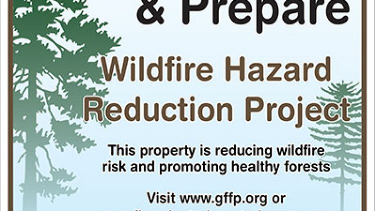 Firewise Property Owners are Recognized with Signs