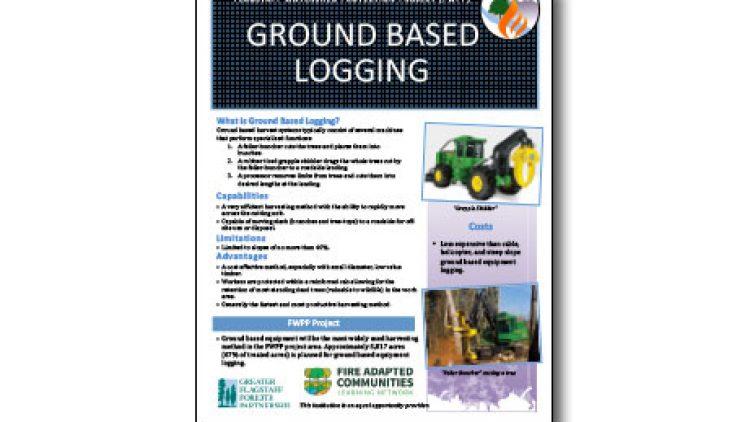 Harvesting Method Fact Sheet – Traditional Ground Based Equipment