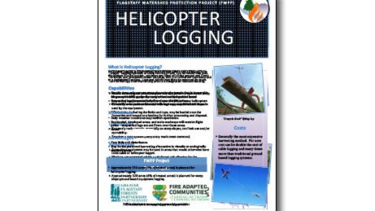 Harvesting Method Fact Sheet-Helicopter Logging