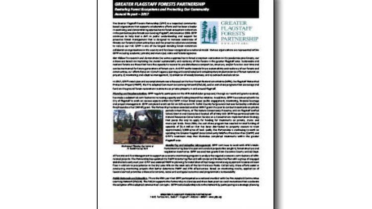 GFFP's 2017 Annual Report Released