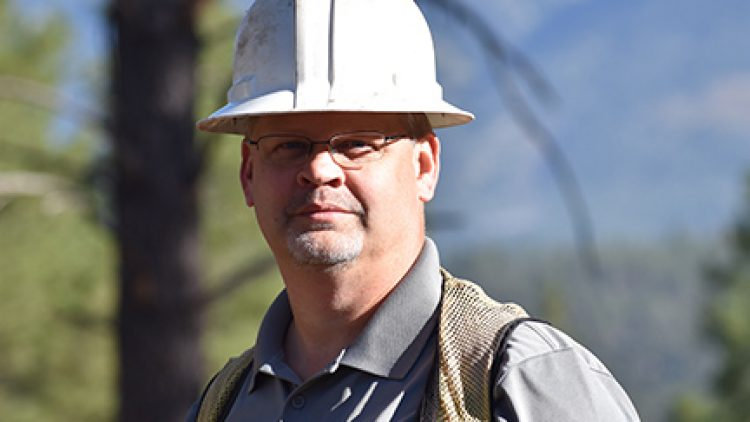 Jay Smith, Coconino County's Forest Restoration Director